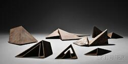 Beverly Pepper (American, b. 1922)      Group of Seven Maquettes