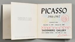 Picasso, Pablo (1881-1973) Signed Exhibition Catalog.