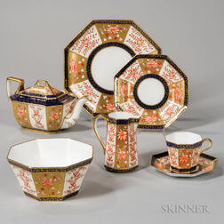 Wedgwood Bone China Imari Pattern Tea Service