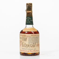 Very Old Fitzgerald 8 Years Old 1951, 1 1/2 pint bottle