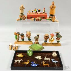 Group of German Decorative Items