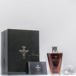 The Macallan in Lalique 57 Years Old, 1 750ml bottle (pc)