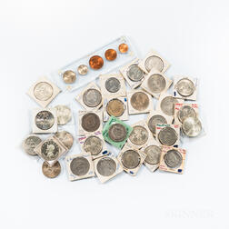 sGroup of World Coins