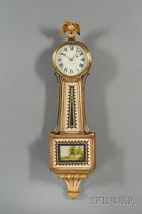 "Mahogany Patent Timepiece or ""Banjo"" Clock, by E. Howard & Co."
