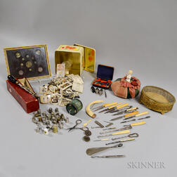 Group of Sewing Items