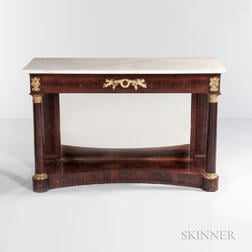 Classical Marble-top Pier Table