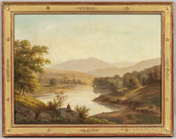 American School, 19th Century      Vista in the White Mountains