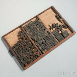 Collection of Letterpress Wood Blocks