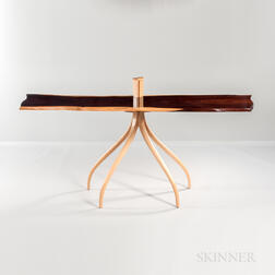 "Richard Oedel ""Wild Rose Console Table,"""