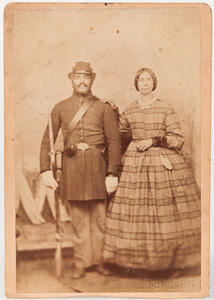 Redder, Jacob W. (1809-1864) African American Civil War Soldier and His Descendants, Lot of Photographs, 1860s-1960s.