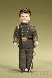 Admiral Richmond Pearson Hobson Portrait Doll