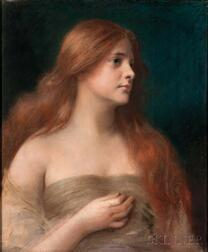 James Wells Champney (American, 1843-1903)      Lilith
