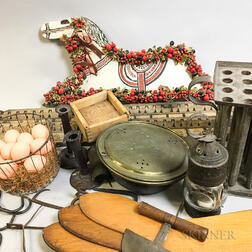 Group of Kitchen and Domestic Items