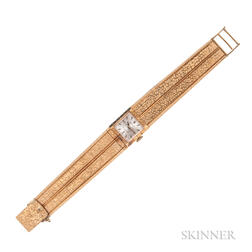 Lady's 18kt Gold Wristwatch, Rolex, Tiffany & Co.