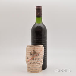 Chateau Beychevelle 1975, 1 bottle