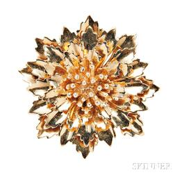 14kt Gold Brooch, Tiffany & Co.