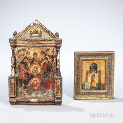 Two Eastern Orthodox Icons