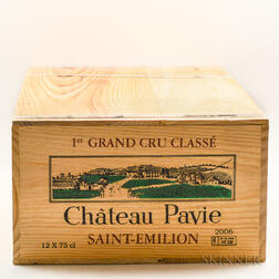 Chateau Pavie 2006, 12 bottles (owc)
