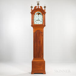 Benjamin Willard No. 295 Mahogany Tall Clock