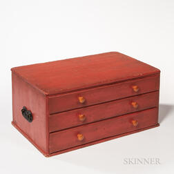 """Shaker Case of Three """"Add-on"""" Drawers"""