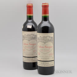 Chateau Calon Segur 1996, 2 bottles