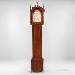 Riley Whiting Stained Birch Tall Clock