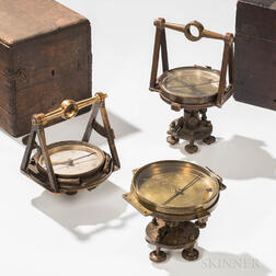 Three 19th Century Philadelphia Surveying Instruments