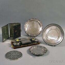 Small Group of Assorted Tableware and Personal Items
