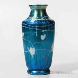 Quezal Art Glass Vase