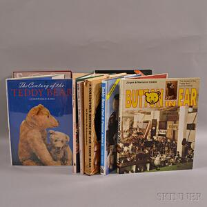 Nine Steiff Reference Books and Catalogs