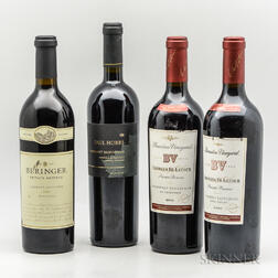 Mixed Napa Reds, 4 bottles
