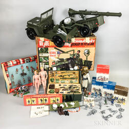 Group of War Toys