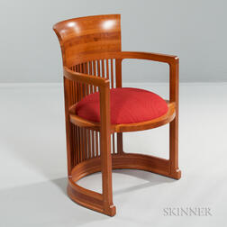 Barrel Chair After Frank Lloyd Wright