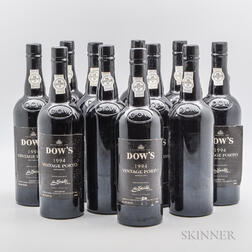 Dows Vintage Port 1994, 11 bottles