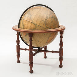 Monumental Floor-standing W.& A.K. Johnston Ltd. 30-inch Terrestrial Globe