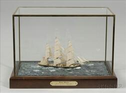 Wood Model of the Clipper Young American
