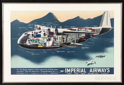 Imperial Airways Promotional Poster