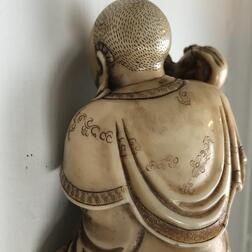 Soapstone Carving of a Luohan
