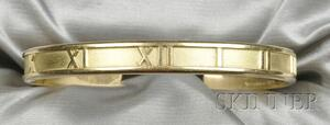 "18kt Gold ""Atlas"" Bracelet, Tiffany & Co."