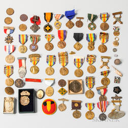 WWI Victory and Veteran Medals