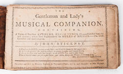 The Gentleman and Lady's Musical Companion
