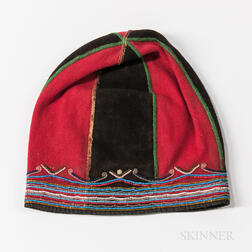 Labrador Bead-decorated Cloth Hat