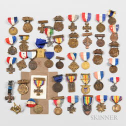 Group of WWI Veteran Medals