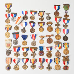 Group of WWI-era Medals