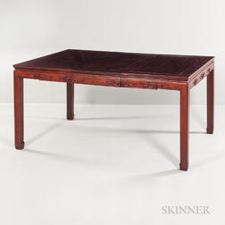 Asian-style Hardwood Dining Table