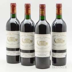 Chateau Margaux 1986, 4 bottles