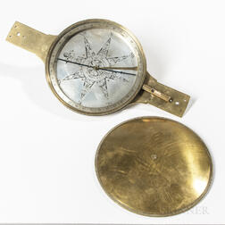 Large Rittenhouse Surveyor's Compass for Thomas Williams