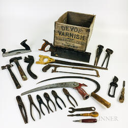 Group of Antique Hand Tools