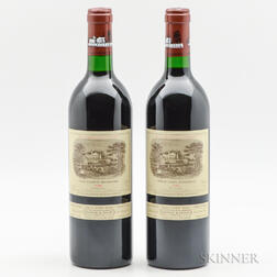 Chateau Lafite Rothschild 1988, 2 bottles
