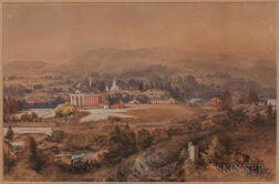 William McIlvaine Jr. (New York/California, 1813-1867)      Bellows Falls, VT.